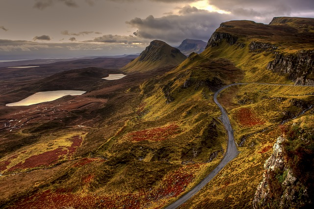 Mountain Road in the United Kingdom